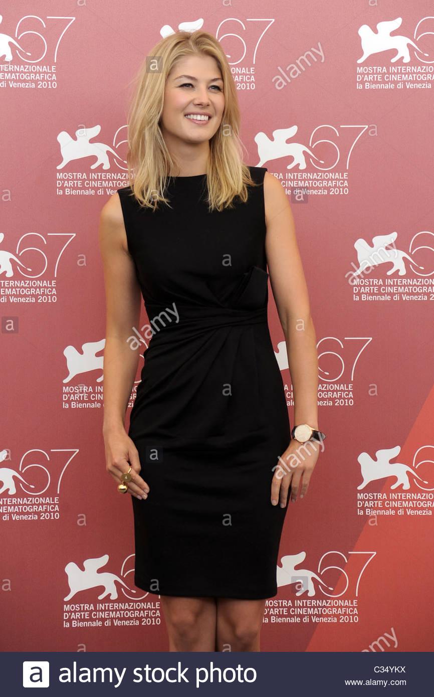 rosamund pike, 67th international venice film festival - Stock Image