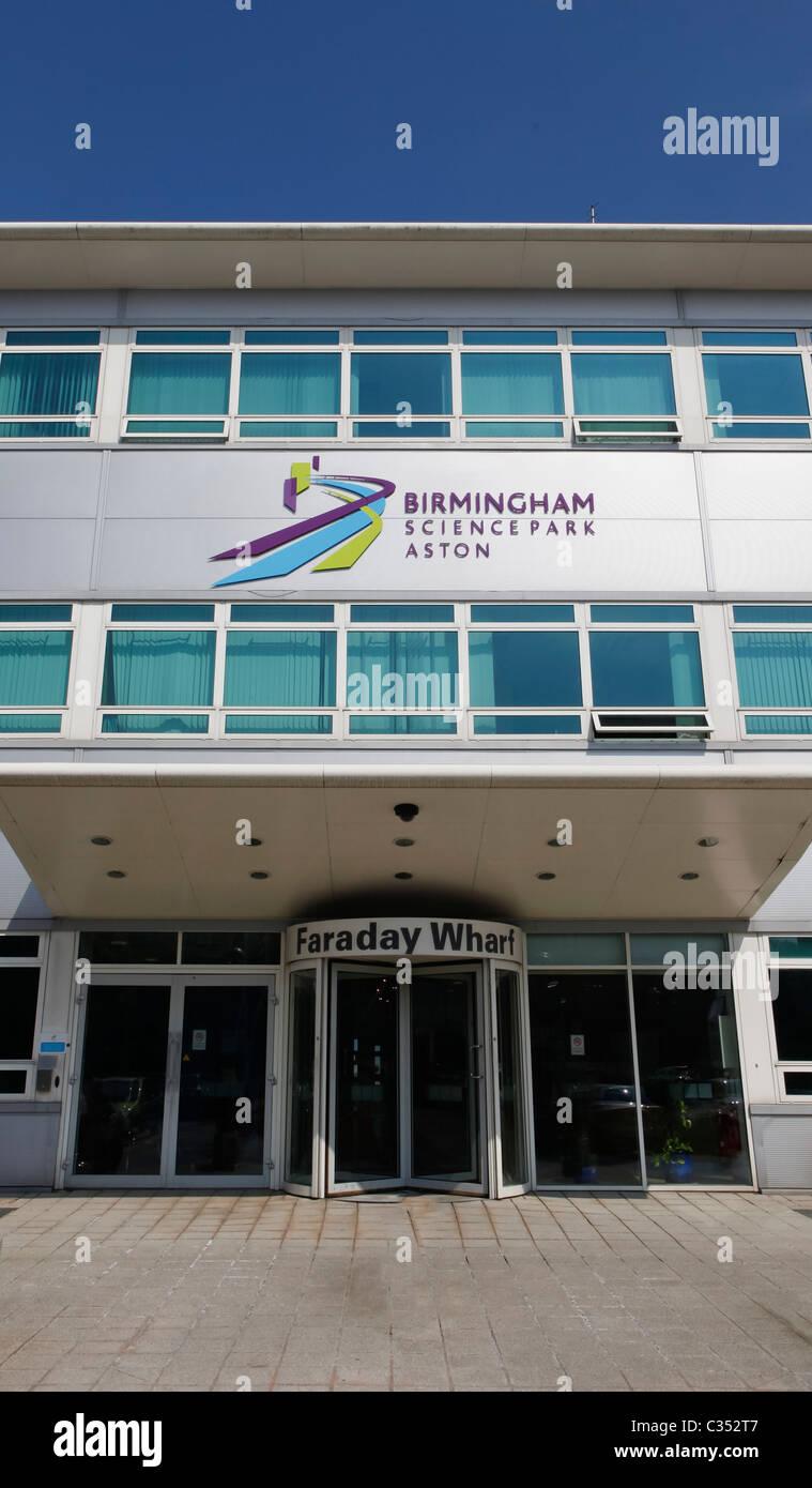 Birmingham Science Park, Aston, Birmingham, England, UK. BSPA. - Stock Image