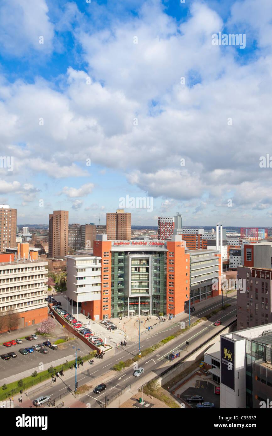 View of Matthew Boutlon College in Birmingham City Centre, West Midlands, - Stock Image