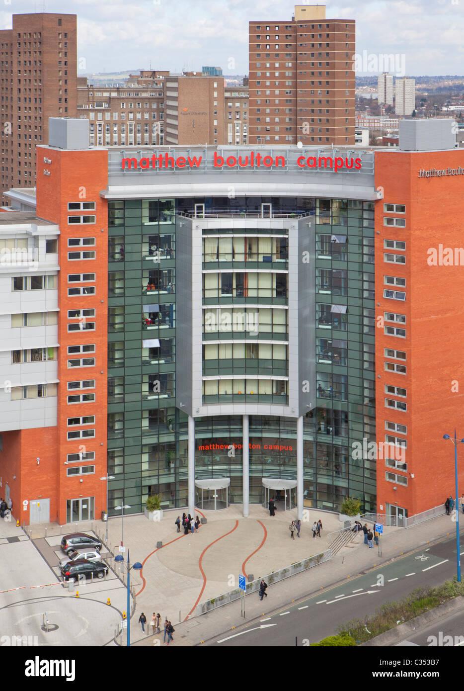 Matthew Boulton College, Birmingham, West Midlands. Matthew Boulton Campus. - Stock Image