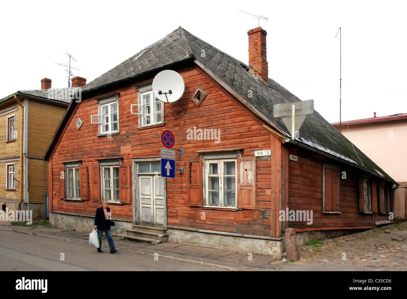 Cesis, Letonia. - Stock Image