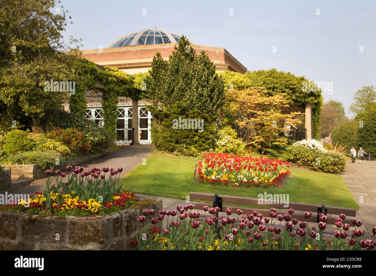 Sun Pavilion Valley Gardens Harrogate North Yorkshire England Stock ...