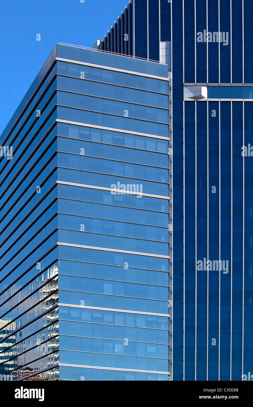Skyscrapers in the commercial area of Puerto Madero, Buenos Aires, Argentina. Stock Photo