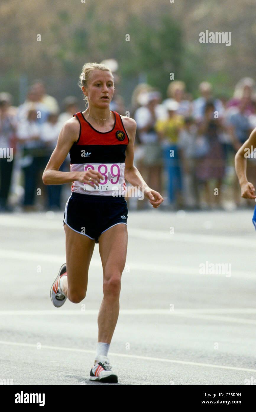 Grete Waitz marathon running