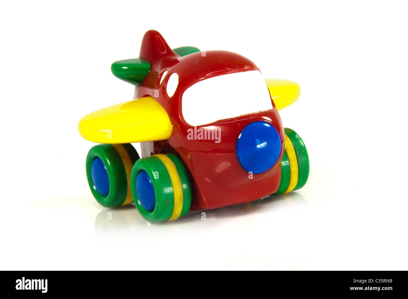 Toy plane - Stock Image