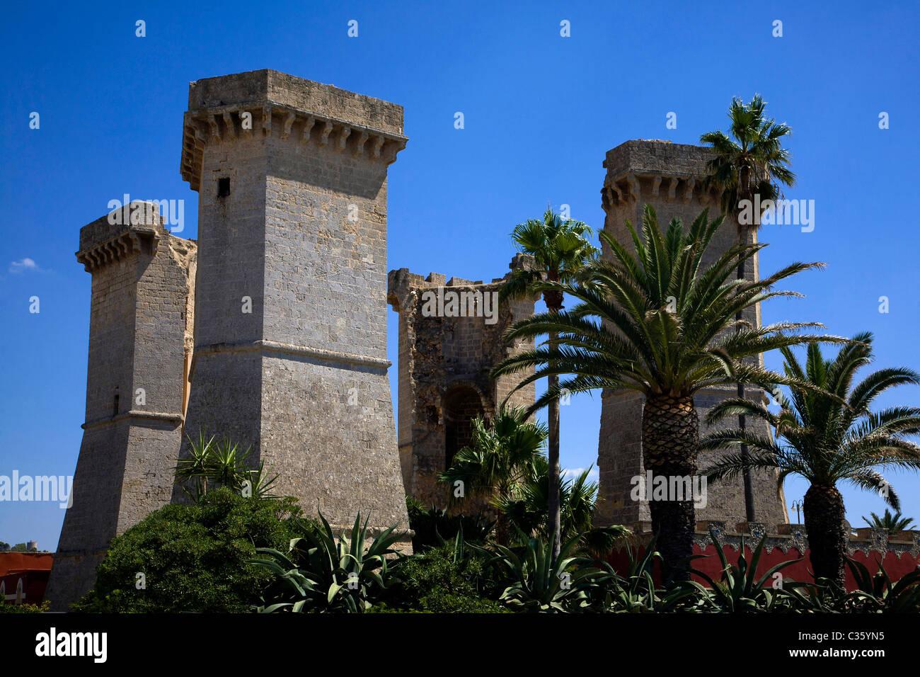 Quattro colonne, Santa Maria al Bagno, Salento, Apulia, Italy Stock ...