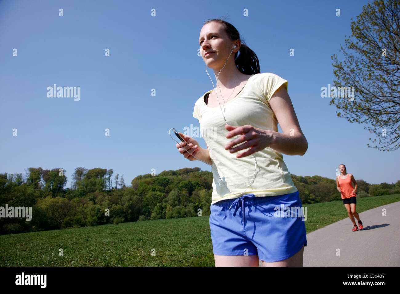 Action Mp3 Music Outdoor Stock Photos & Action Mp3 Music