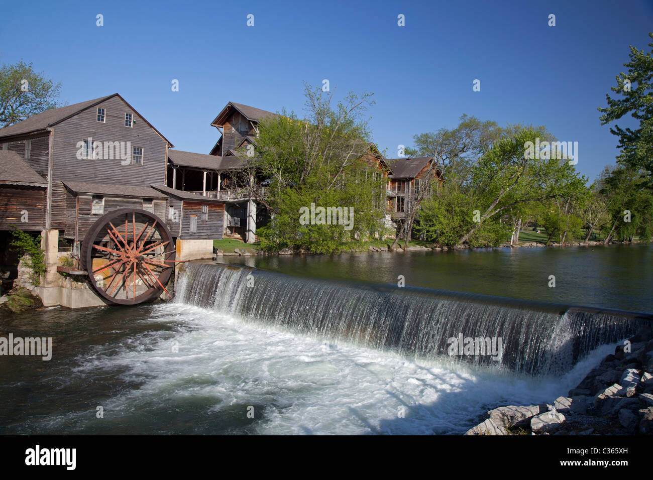 Historic Tennessee Grist Mill - Stock Image