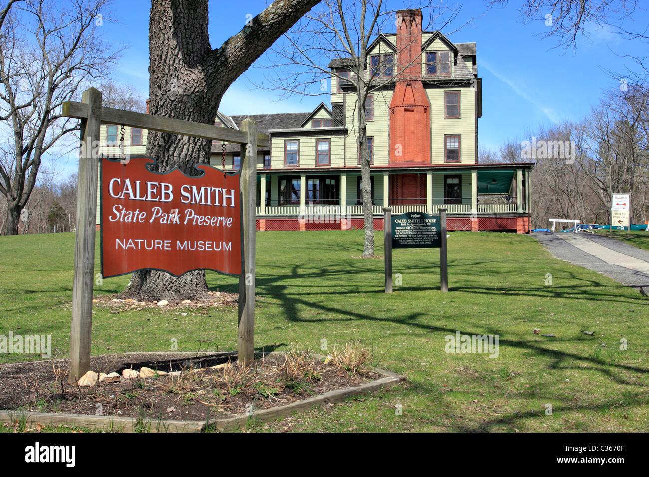 Caleb Smith State Park Preserve Nature Museum