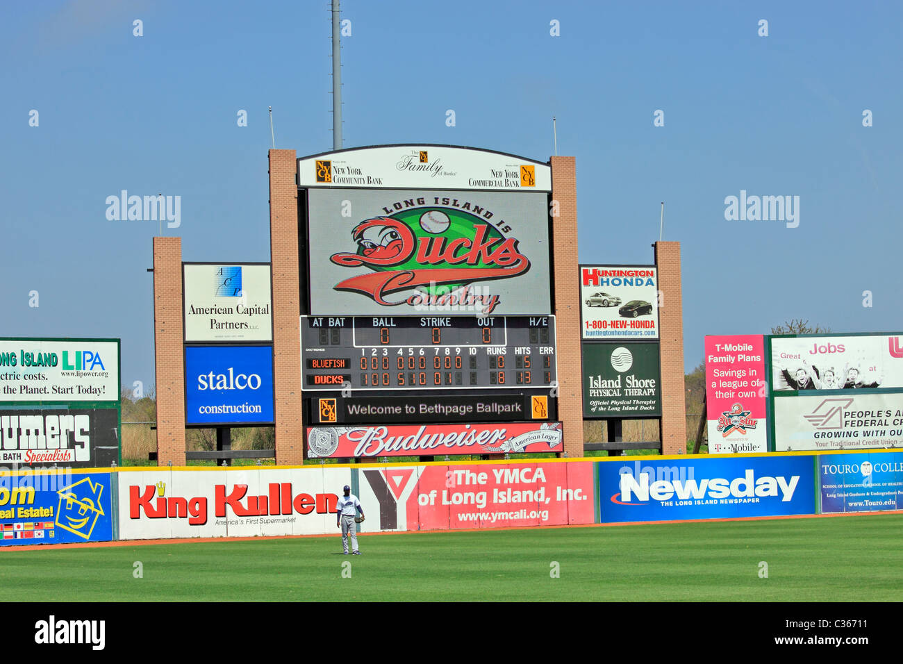 Long Island Ducks Baseball Stadium