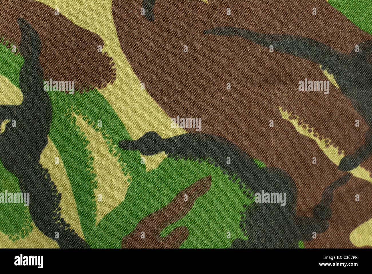 A regular camo pattern suitable for a background - Stock Image