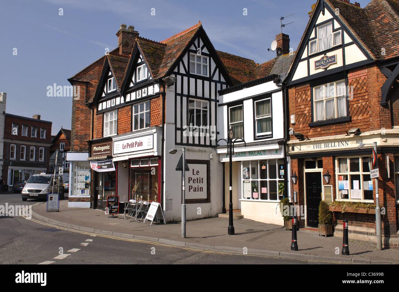 Market Place, Wantage, Oxfordshire, England, UK - Stock Image