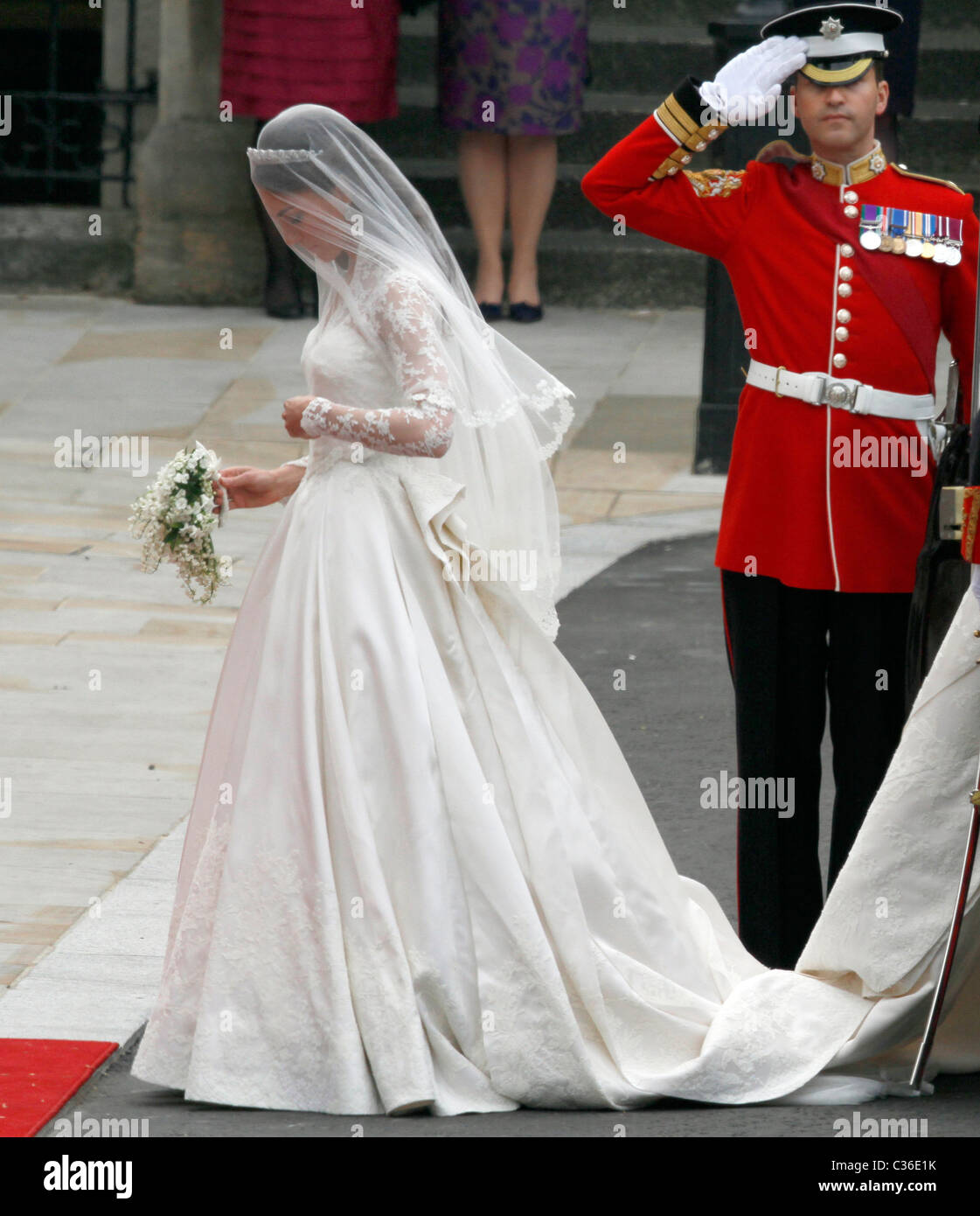 Kate Middleton Wedding Stock Photos & Kate Middleton Wedding Stock ...