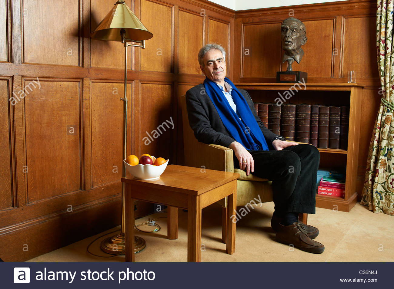 Martin Gayford,art critic , at The Oxford Literary Festival 2011 in Christchurch, Oxford UK. CREDIT Geraint Lewis - Stock Image
