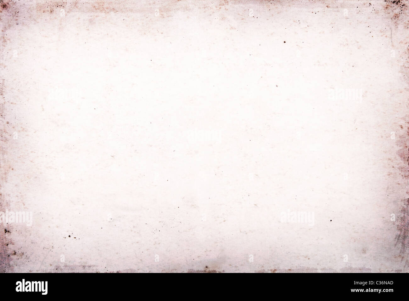 texture, grunge, ancient paper with age marks - Stock Image