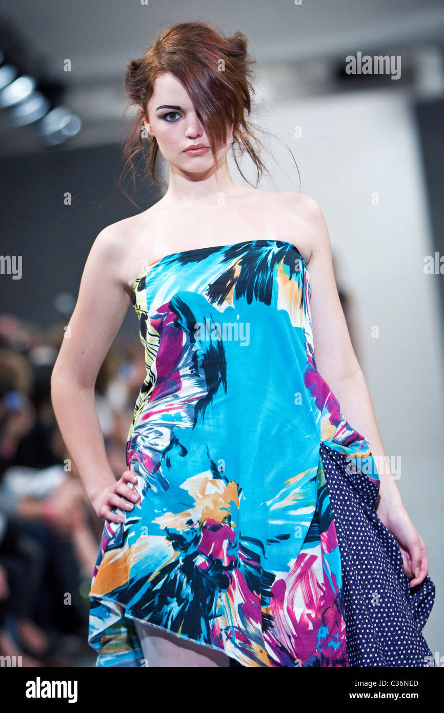 BBC Blast Fashion Show at OnOff The Strand in London - Stock Image