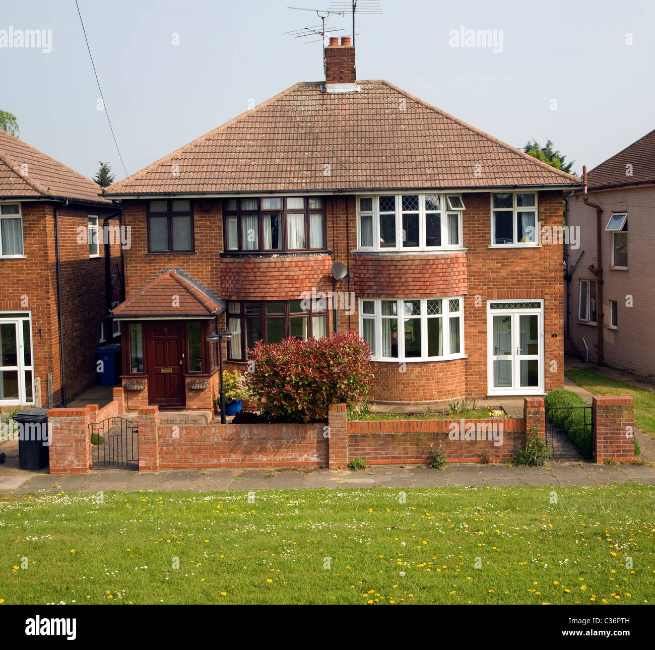 semi detached house stock photos semi detached house stock images