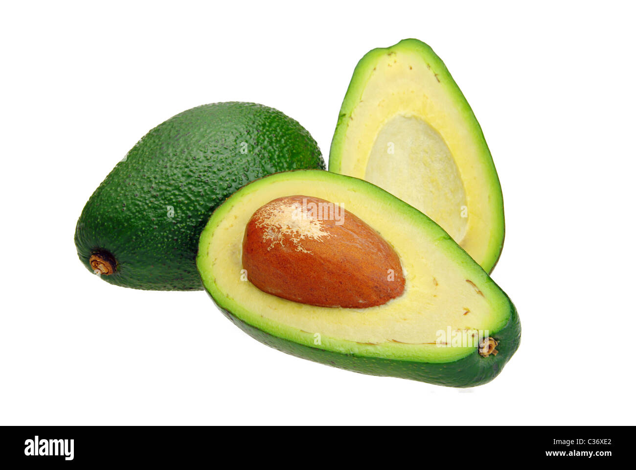 Avocado 09 - Stock Image