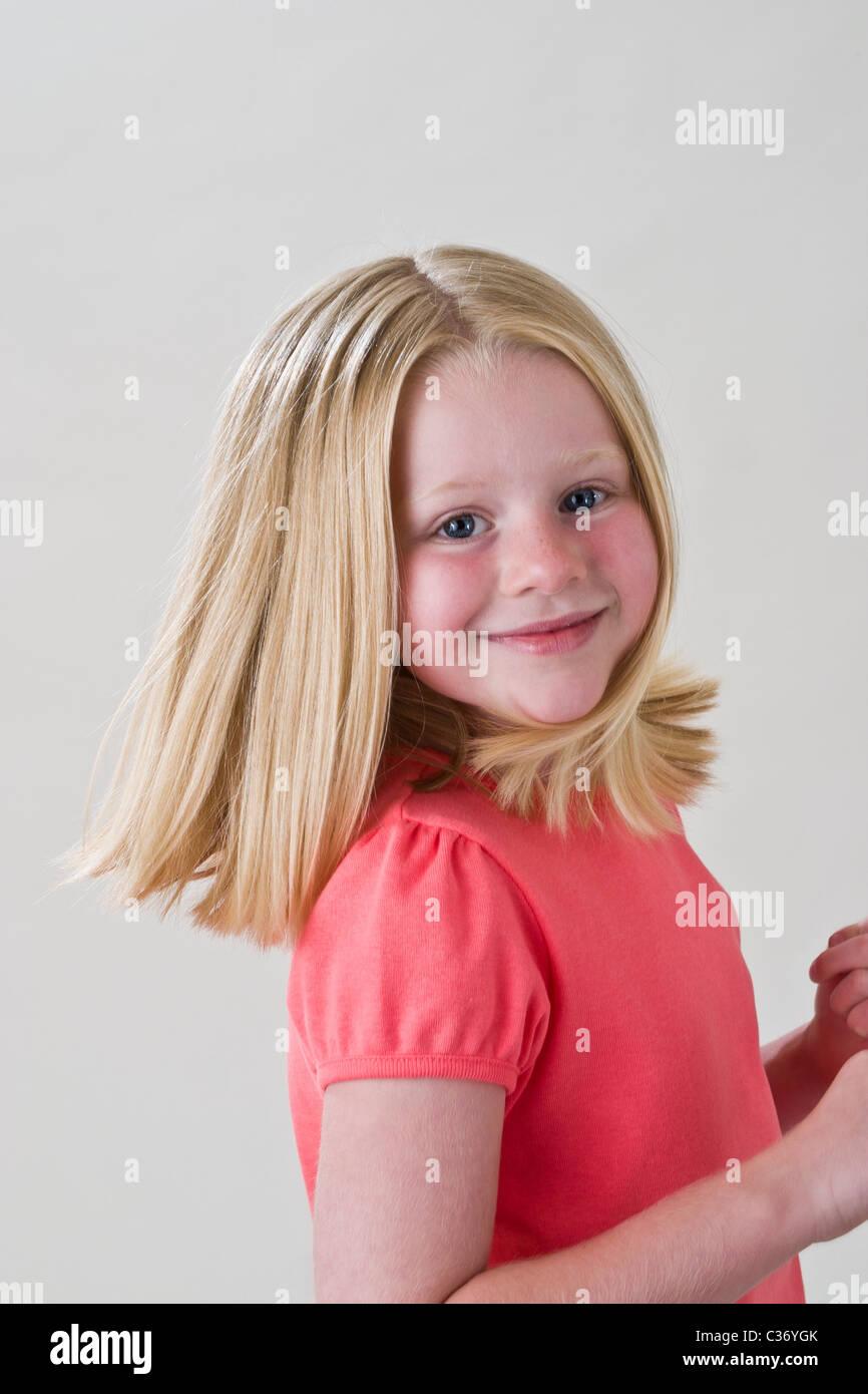 5 6 Year Old Girl Mr Myrleen Pearson Stock Photo 36418051 Alamy