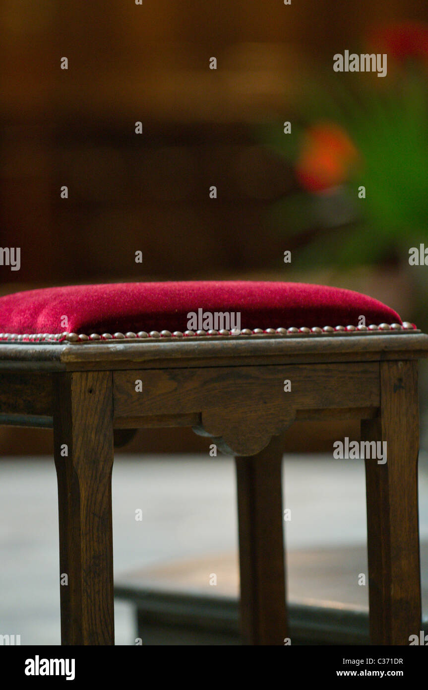 Priest seat - Stock Image