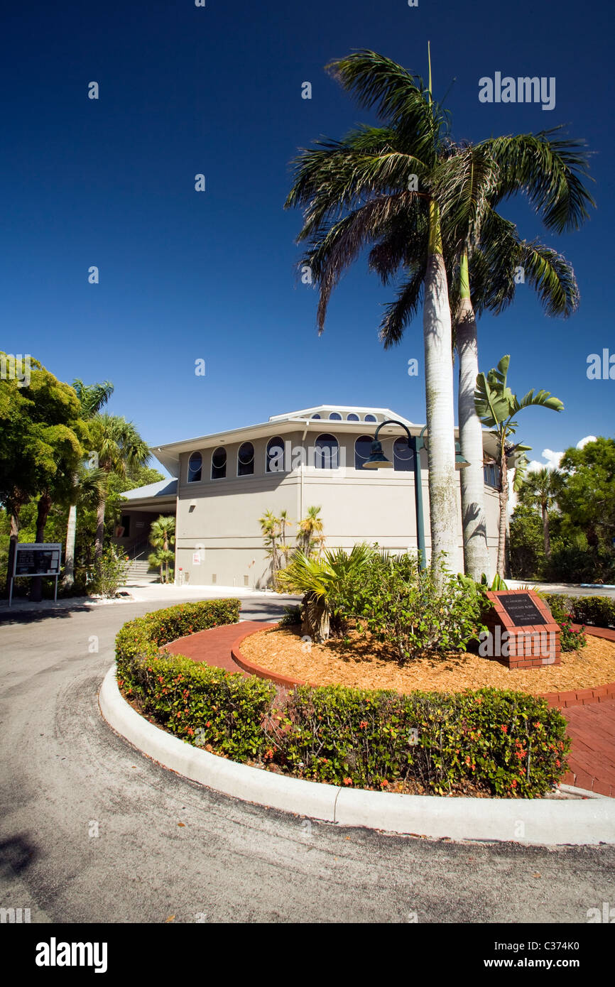 The Bailey-Matthews Shell Museum - Sanibel Island, Florida USA - Stock Image