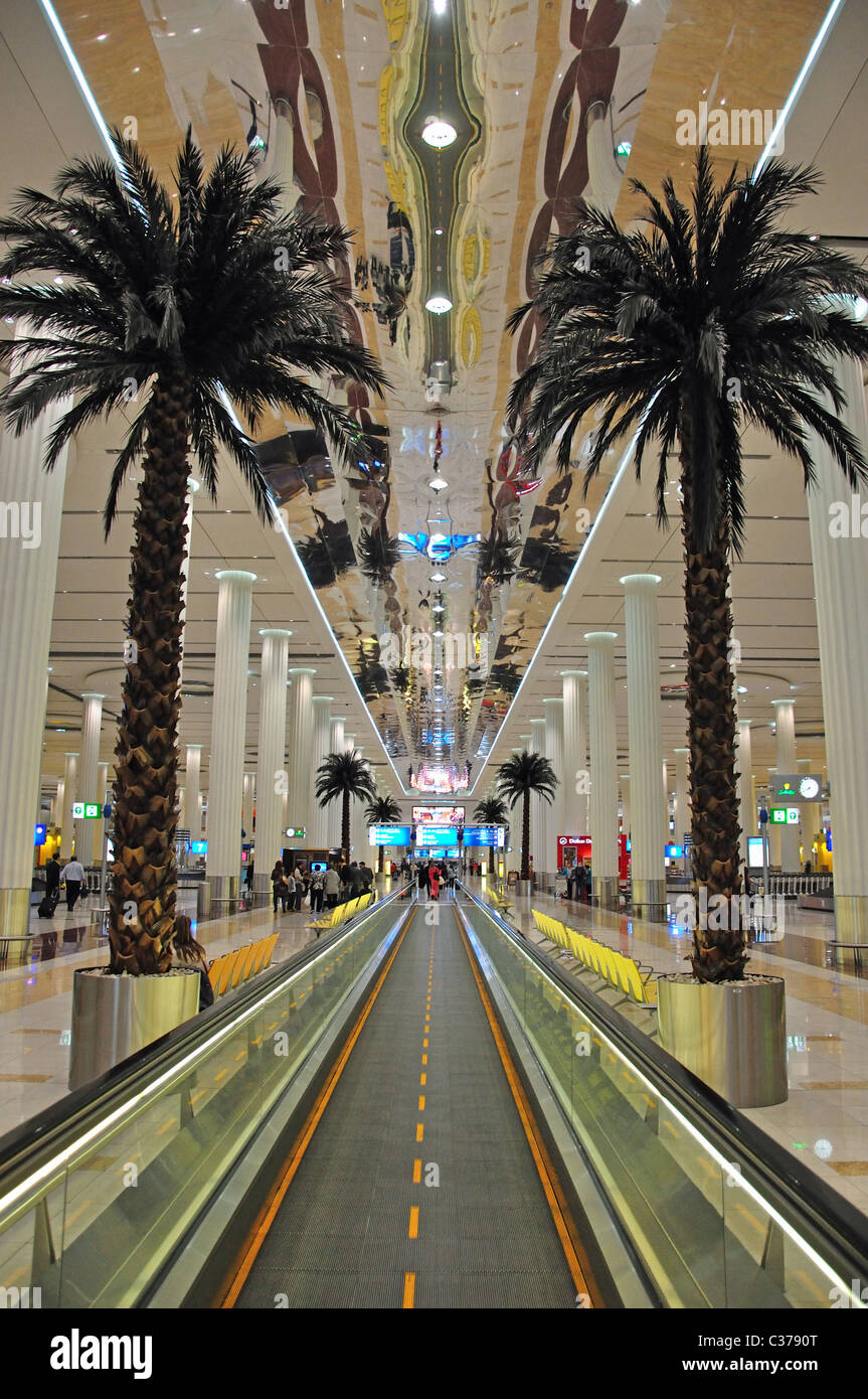 Arrivals Hall Emirates Terminal 3 Dubai International