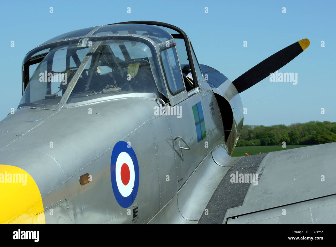 PERCIVAL P56 PISTON PROVOST T.1. RAF TWO SEAT SIDE BY SIDE TRAINER - Stock Image