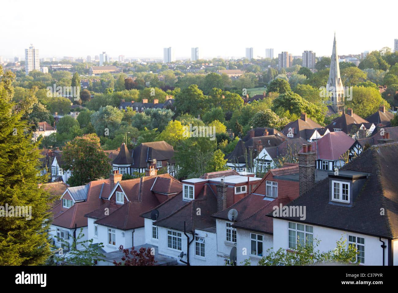 Holly Lodge Estate - Highgate - Camden - London - Stock Image