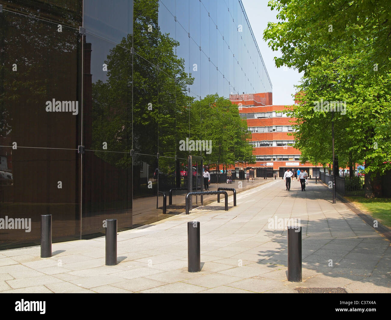 Willis Group Holdings Building, Ipswich, Suffolk - one of earliest designed by architect Norman Foster - Stock Image