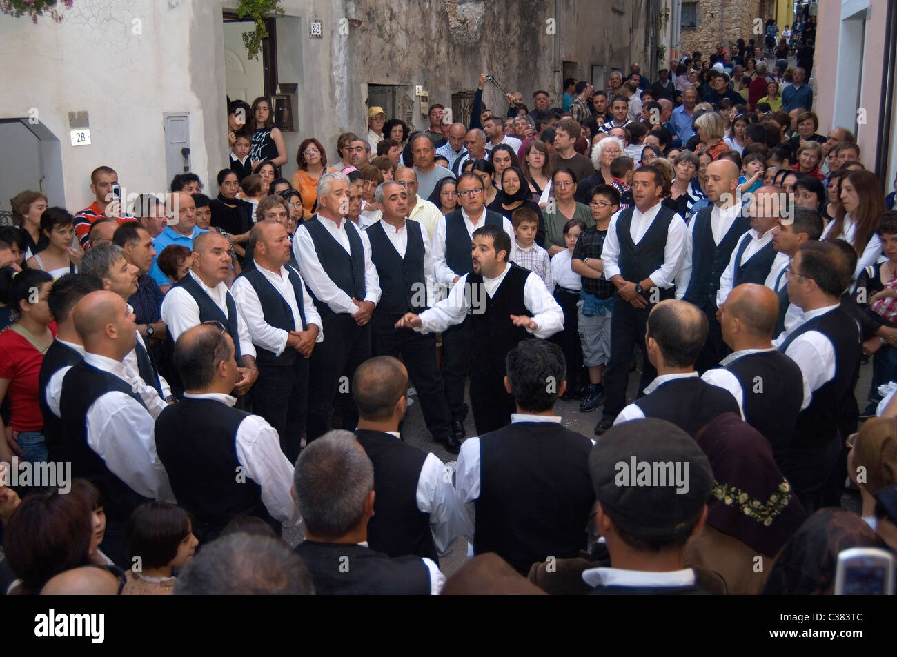 Coro Montesantu (Montesantu Choir), Baunei, Ogliastra, Sardinia, Italy - Stock Image