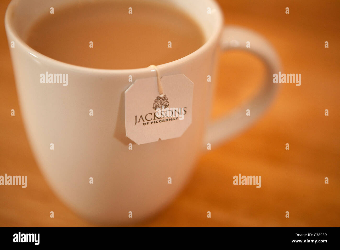 Illustrative image of Jackson's of Piccadilly Tea, an Associated British Foods brand. - Stock Image