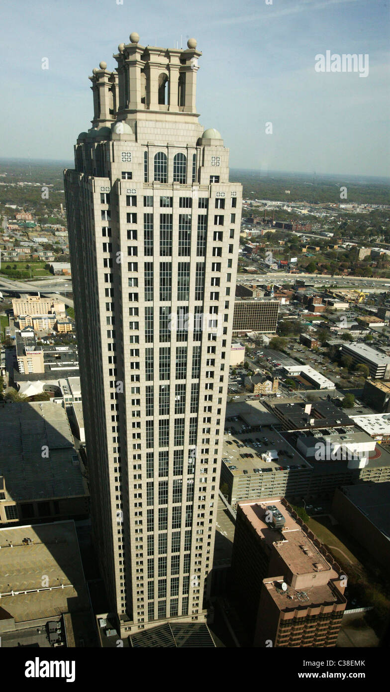 191 Peachtree Tower in Atlanta, GA. - Stock Image
