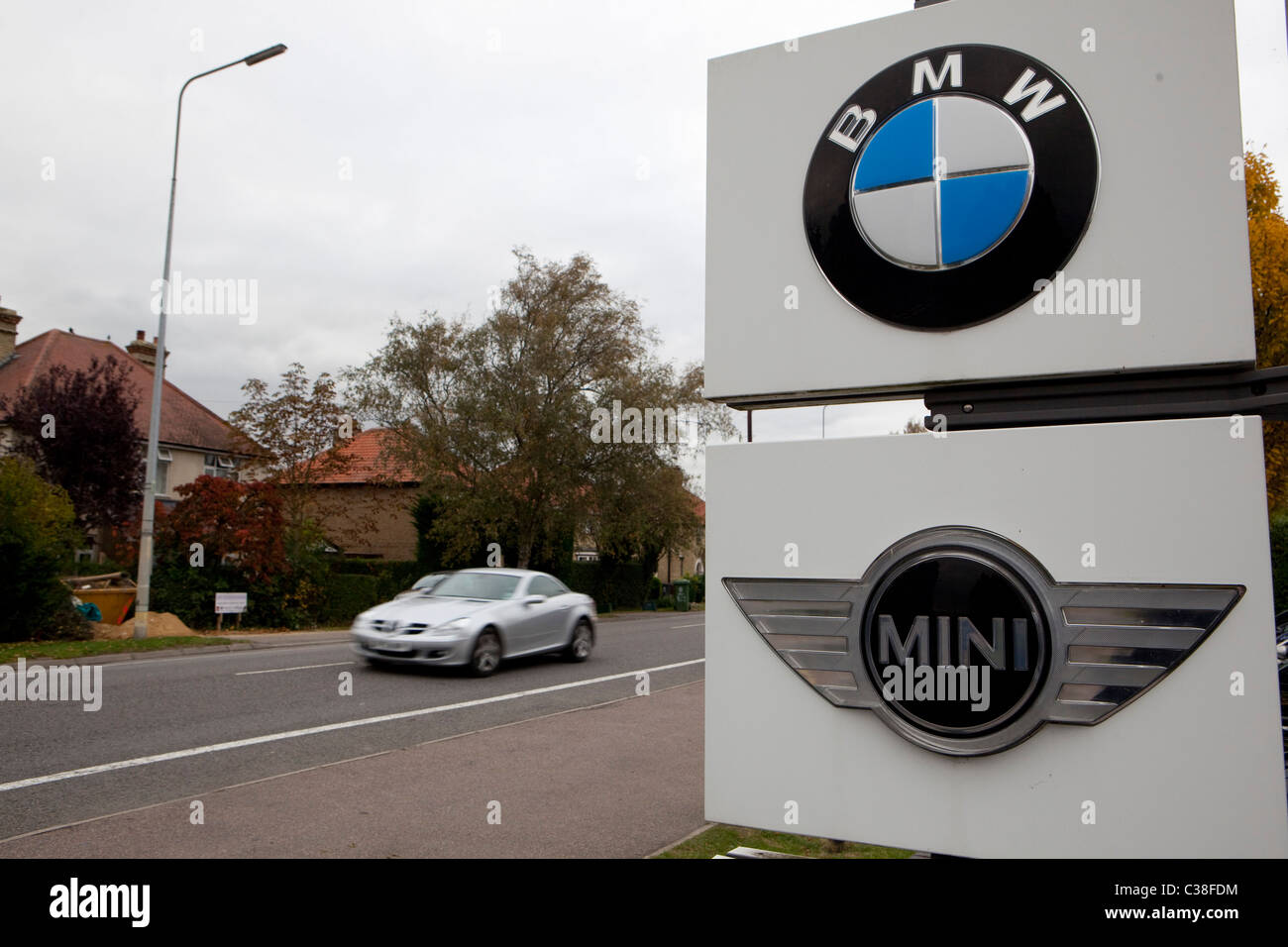 BMW MINI PARKING SIGN