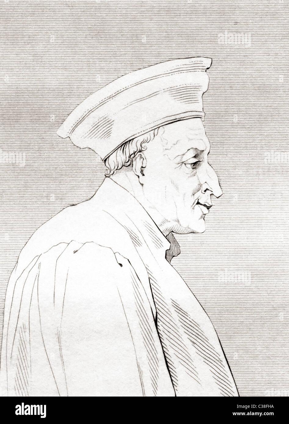 Còsimo di Giovanni degli Mèdici, 1389 – 1464. First of the Medici political dynasty. - Stock Image