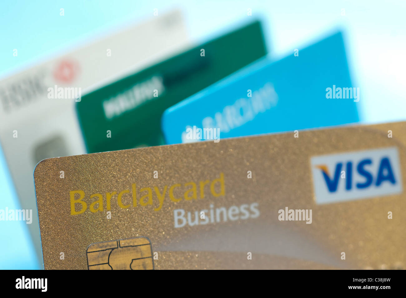 A barclays business visa credit card stock photo 36454681 alamy a barclays business visa credit card reheart Gallery