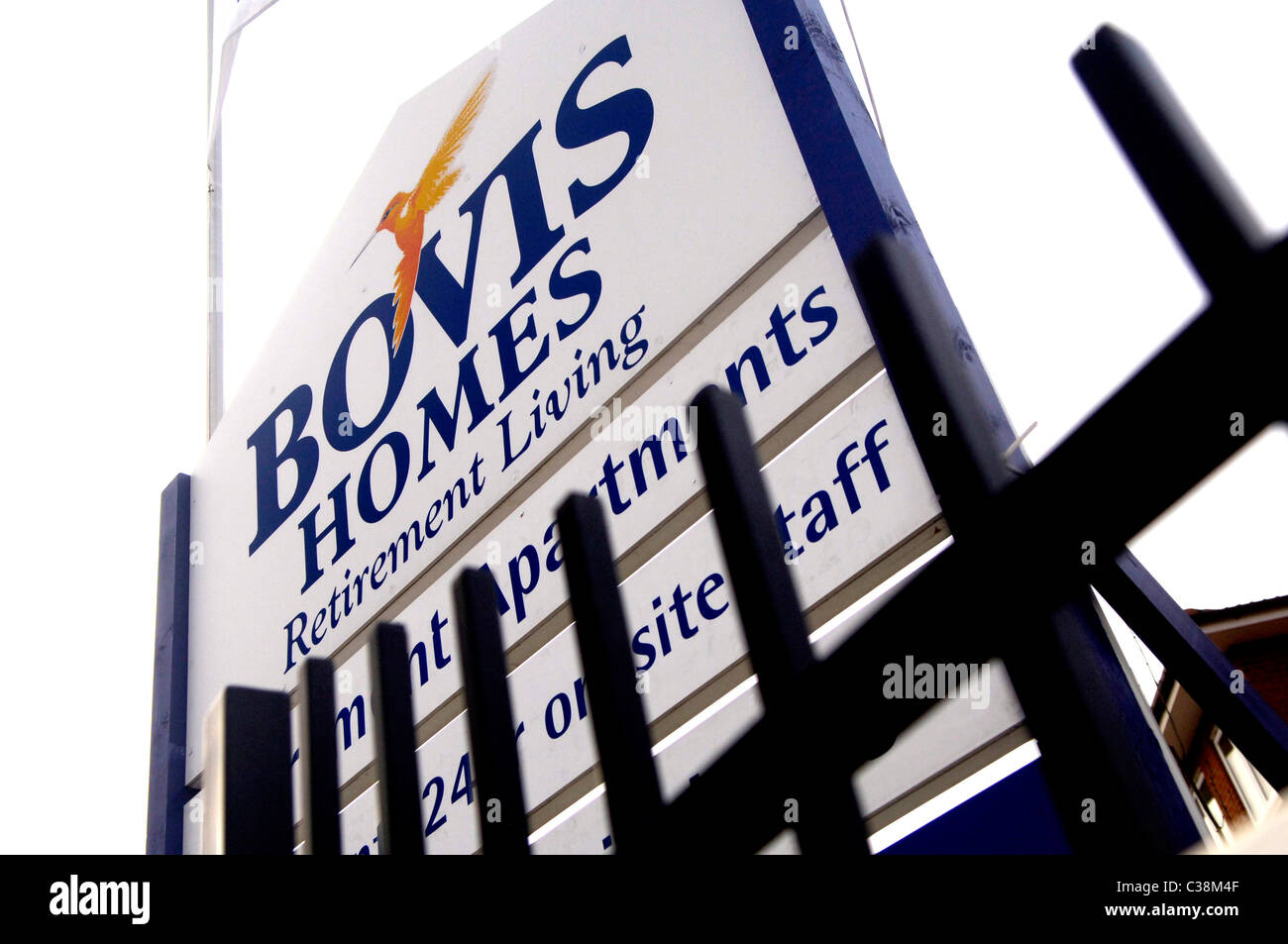 A Bovis Homes property in Mill Hill East, London. - Stock Image