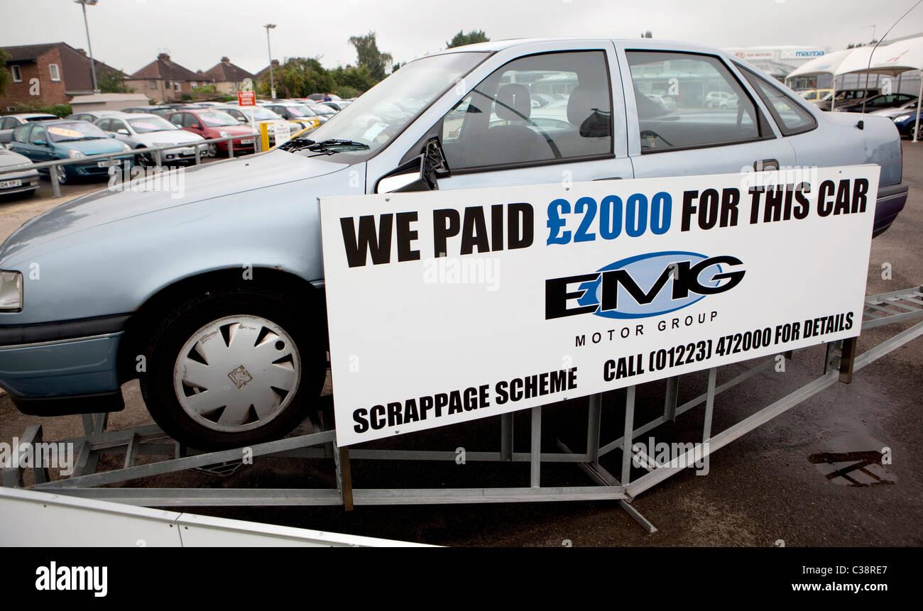Car Scrappage Scheme Stock Photos Amp Car Scrappage Scheme