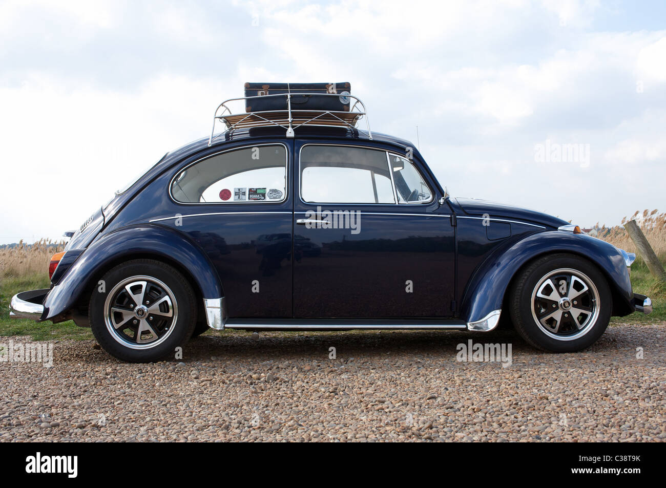 VW Beetle car Mk1 - Stock Image