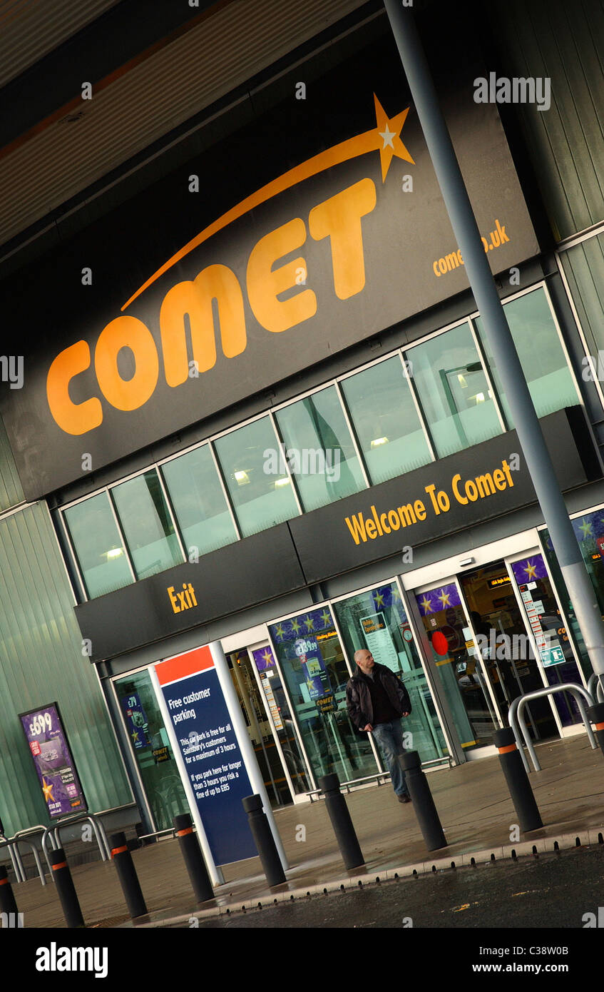 Exterior of a Comet Store in Greenwich, London. - Stock Image
