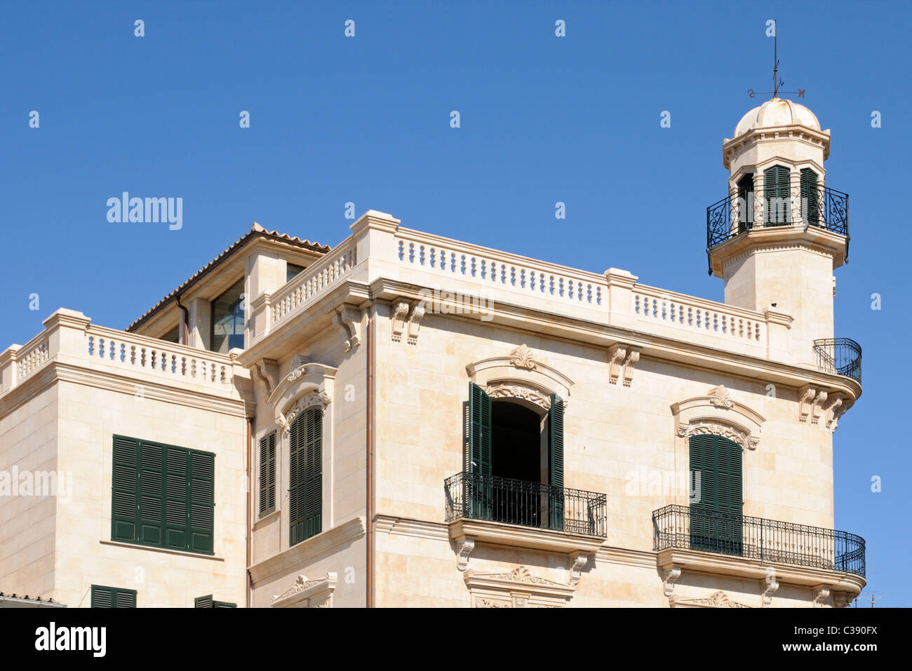Schönes Gebäude in Santa Catalina, Palma, Mallorca, Spanien. - Beautiful buildung in Santa Catalina, Palma, - Stock Image