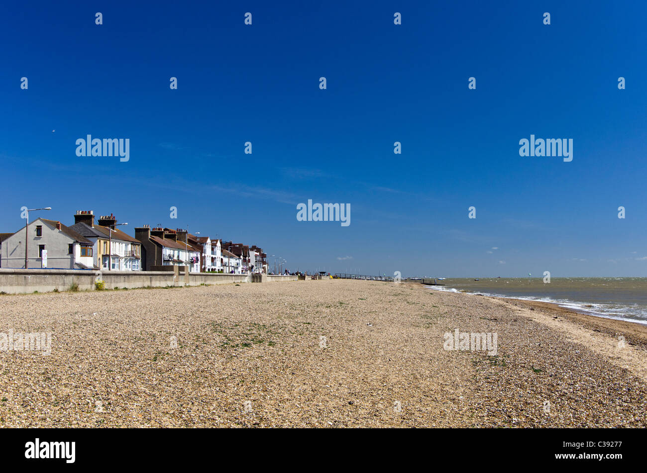 The beach  in Southend-on-Sea Essex, England, UK - Stock Image