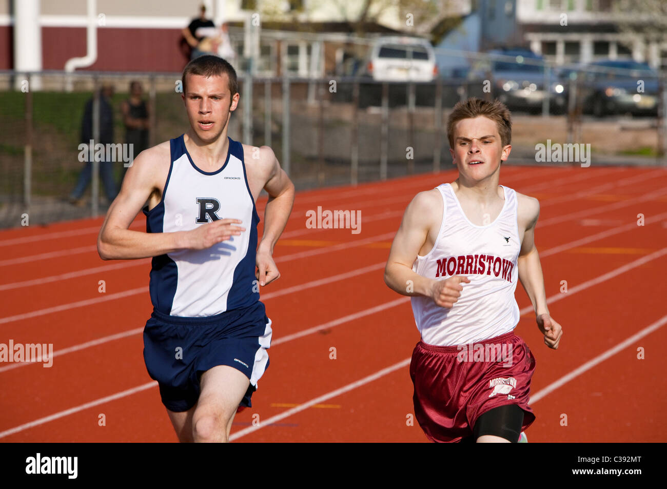 Long Distance Runners - Stock Image