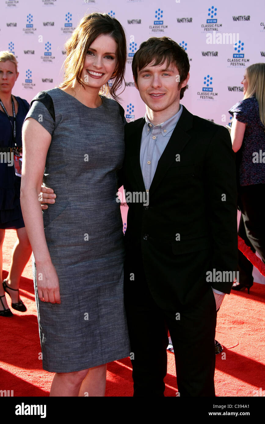 JAMIE ALLMAN MARSHALL ALLMAN AN AMERICAN IN PARIS. OPENING NIGHT GALA AND WORLD PREMIERE OF THE NEWLY RESTORED FILM - Stock Image