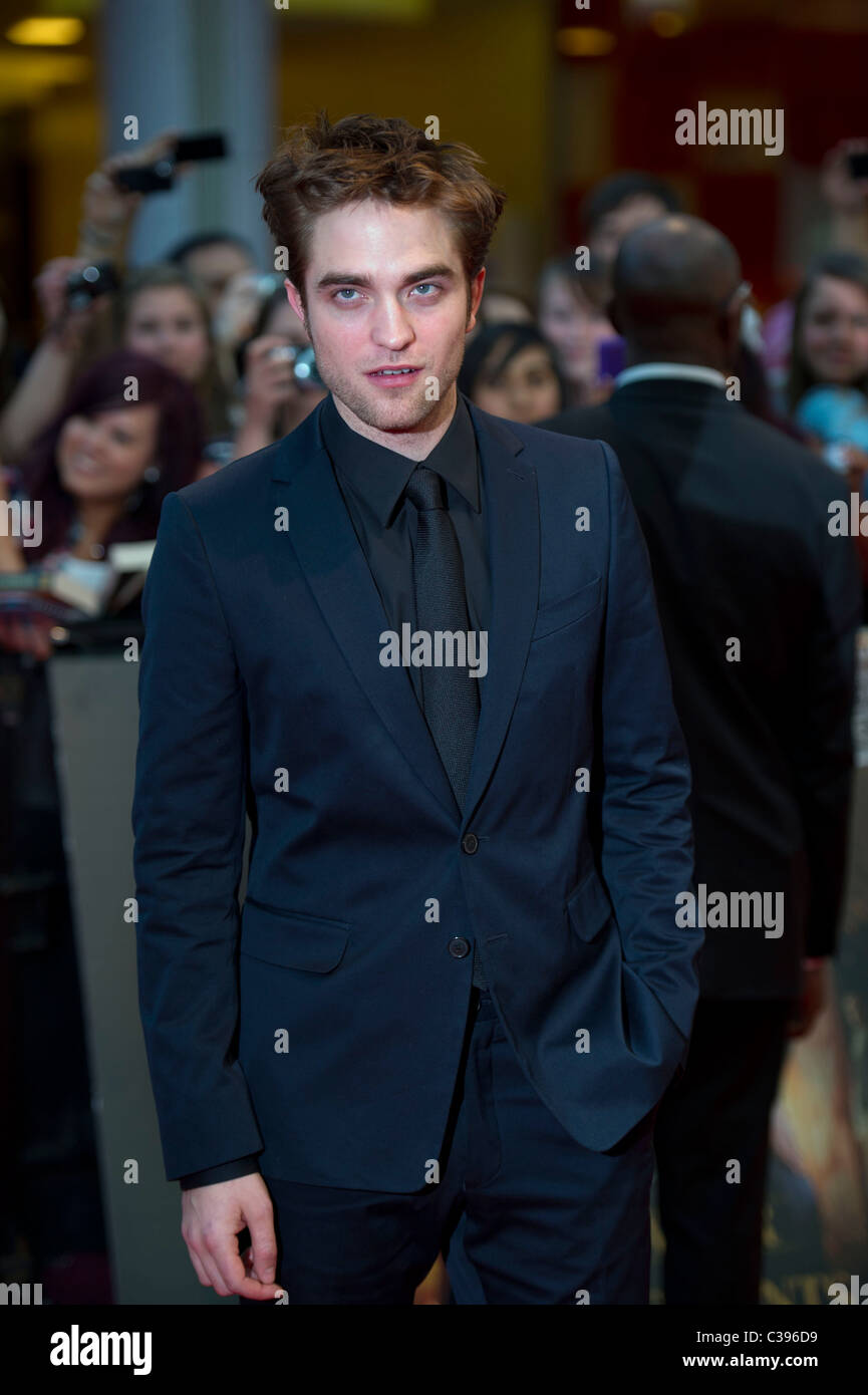 Robert Pattinson at the UK premiere Water For Elephants, hosted at the Vue Westfield London on 3rd May 2011. - Stock Image