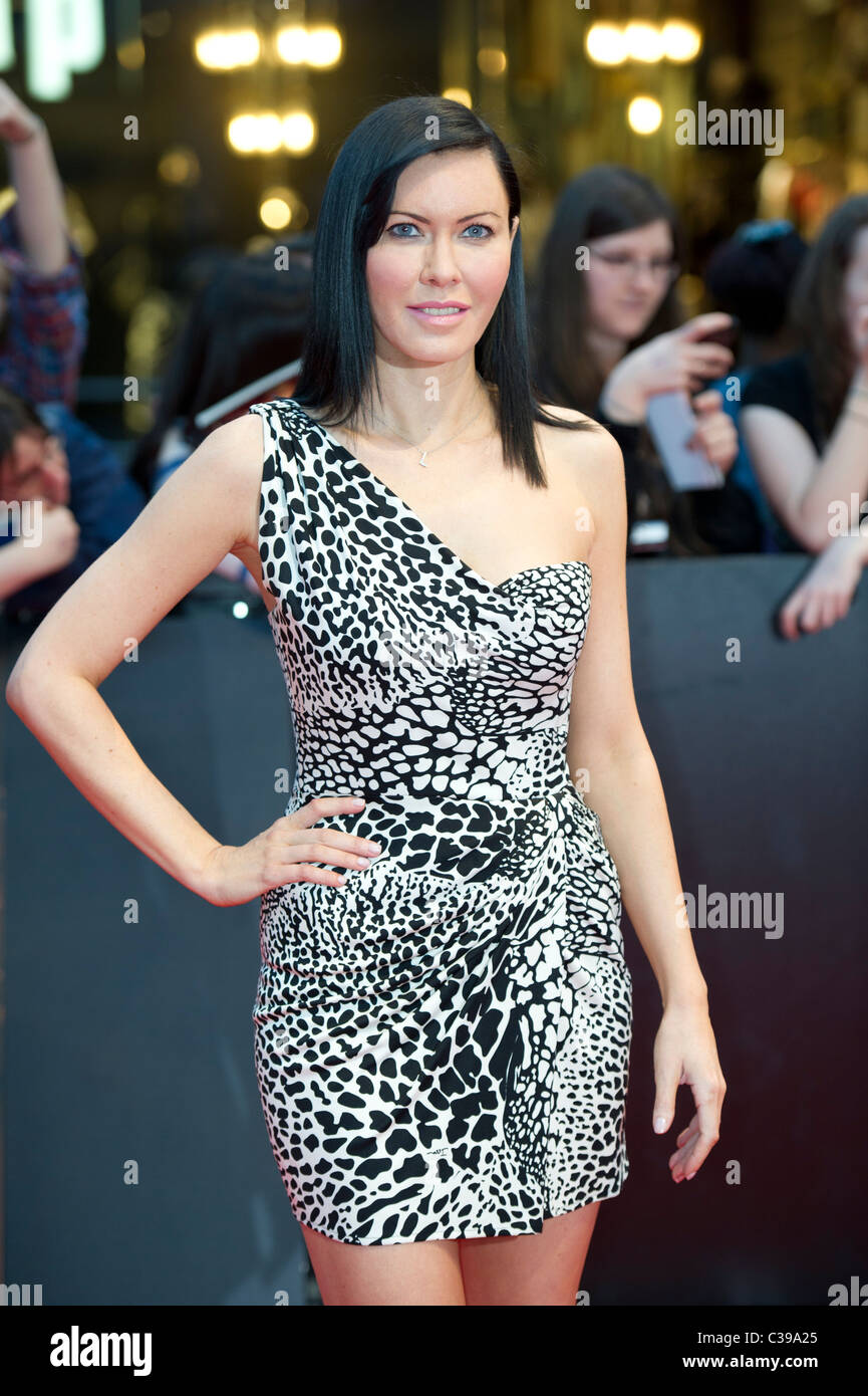 linzi stoppard at the UK premiere Water For Elephants, hosted at the Vue Westfield London on 3rd May 2011 Stock Photo