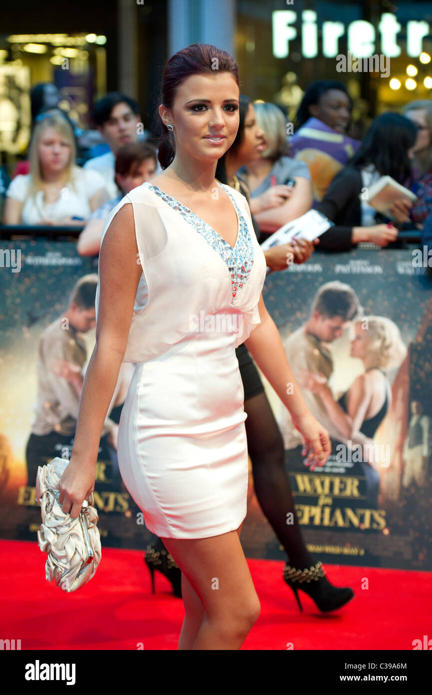 Lucy Mecklenburgh at the UK premiere Water For Elephants, hosted at the Vue Westfield London on 3rd May 2011. - Stock Image