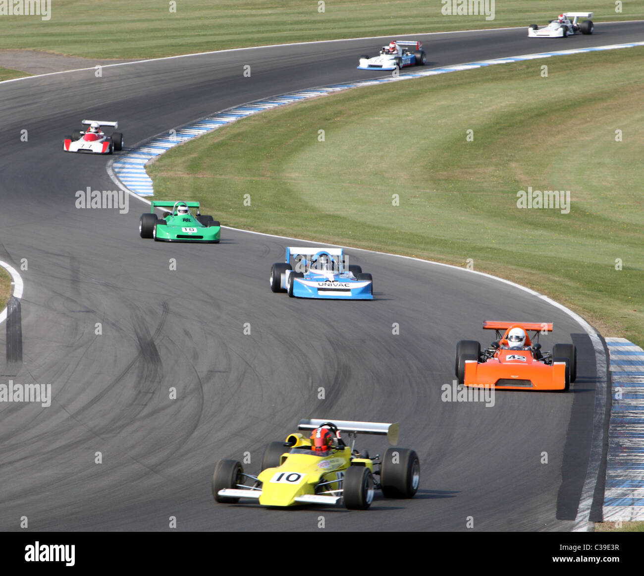 Formula 2 racing Donington Historic Festival 2011 - Stock Image