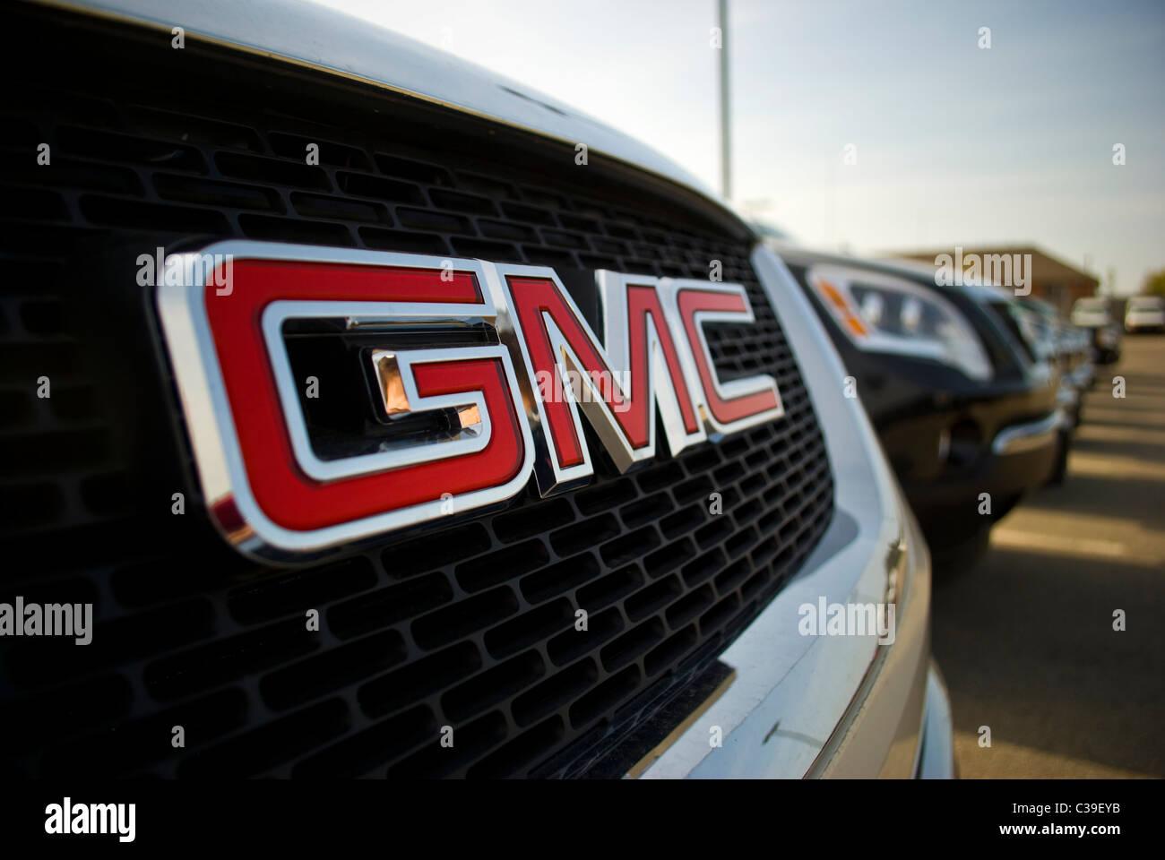 The GMC emblem. - Stock Image