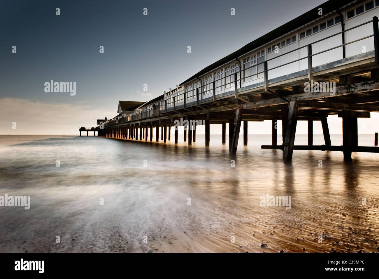 Southwold pier, Suffolk - Stock Image