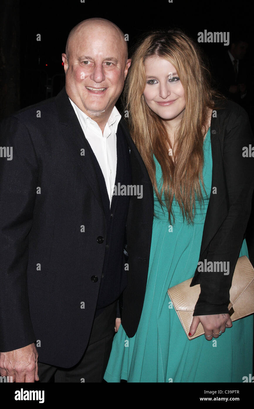 Ron Perelman and Samantha Perelman Vanity Fair party for the 2009 Tribeca Film Festival at the State Supreme Courthouse - Stock Image